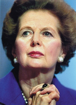 Margaret Thatcher was British Prime Minister from 1979 - 1990