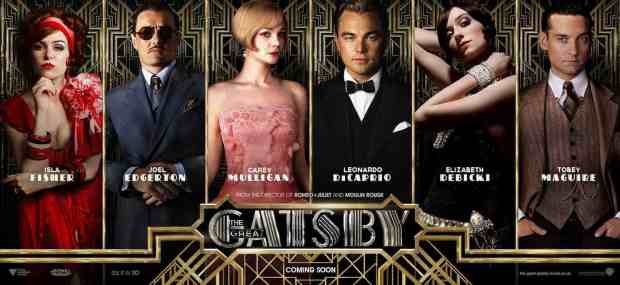 The Great Gatsby is out in cinemas on Thursday 16th May