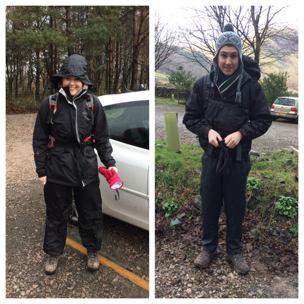 Hollie and Oli take on Scafell Pike.